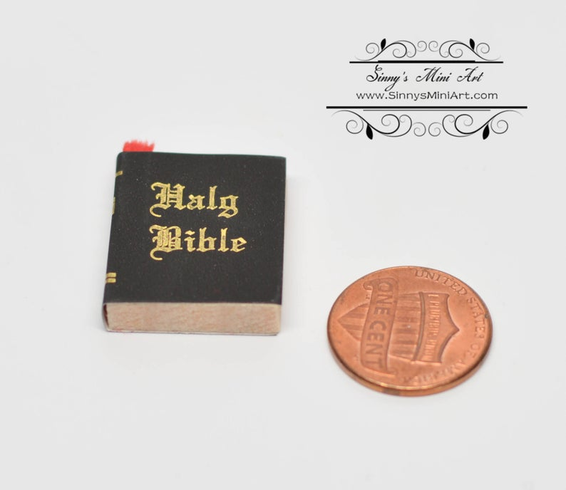 1:12 Dollhouse Miniature Bible/ Miniature Book DL 2307-20/ HH IM65262