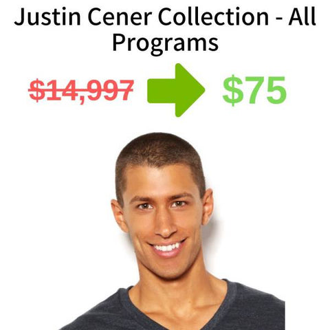 Justin Cener Collection - All Programs FREE DOWNLOAD