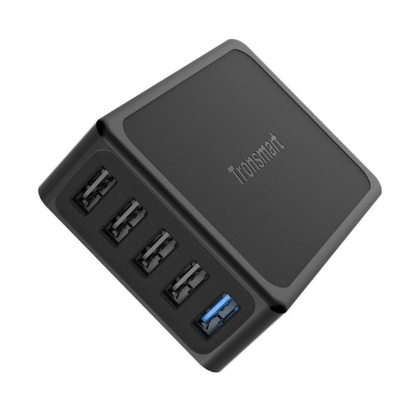 Tronsmart U5PTA Quick Charge 3.0 Desktop Charger (1 Quick Charge 3.0 Port + 4 VoltIQ Ports)