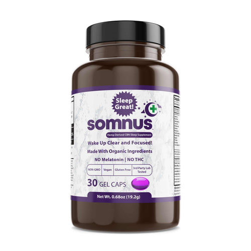 30 Count SOMNUS Bedtime Gel Cap Bottle