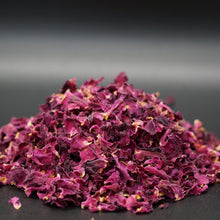 Load image into Gallery viewer, Organic Dried Rose Petals