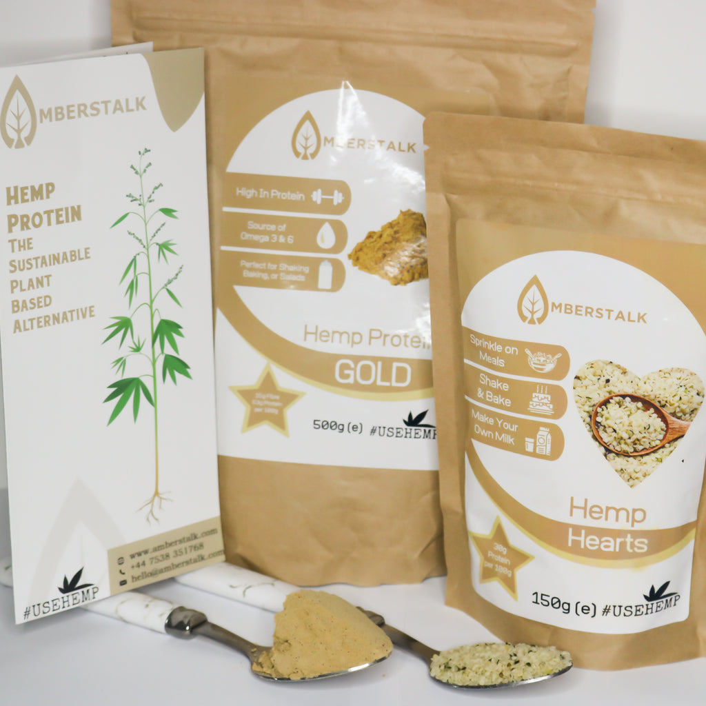 Hemp Protein + Hemp Hearts Bundle