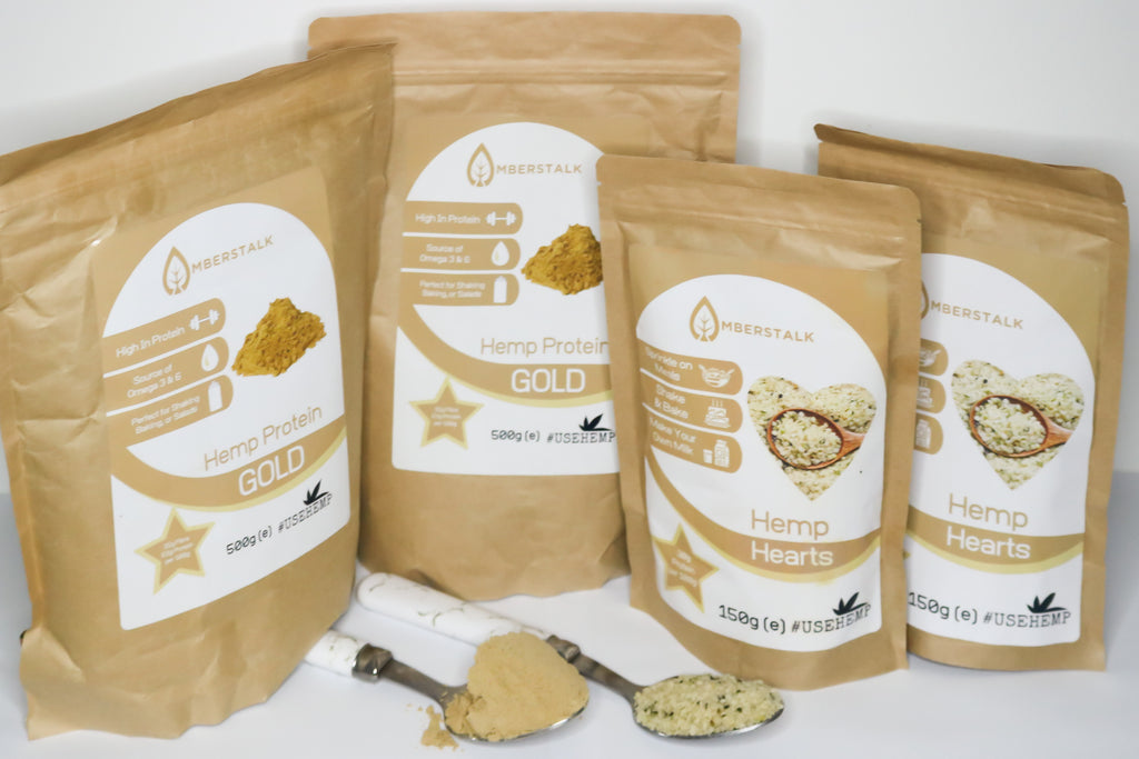 2x Hemp Protein + 2x Hemp Hearts Bundle