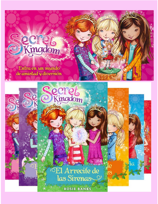 Coleccion Secret Kingdom (12 Libros) - Rosie Banks