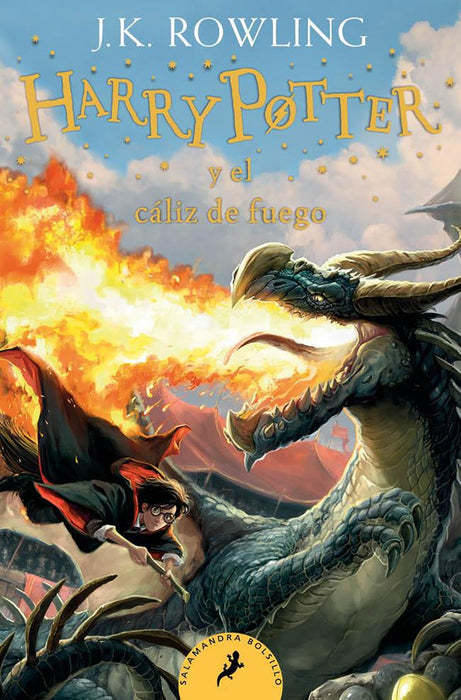 Harry Potter y el Caliz de Fuego (Harry Potter 4)  - J. K. Rowling