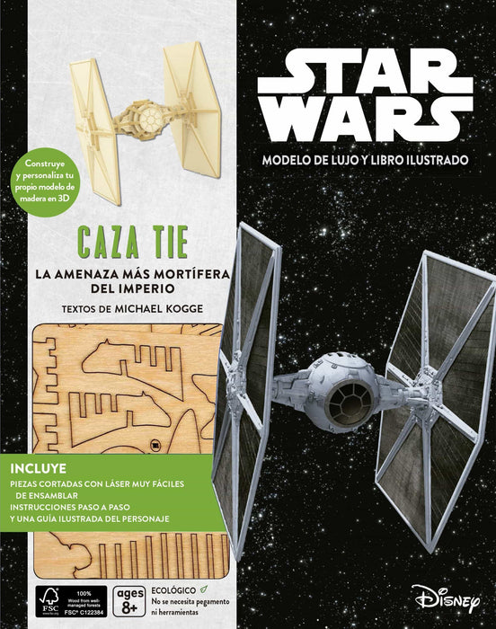 Star Wars Kit Caza Tie -  Nave Armable