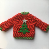 Crochet Christmas Card