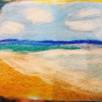 PRIVATE BOOKING CPPE Needle Felted Landscape ONLINE Workshop, 12th May, 7-9pm