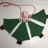 Crochet Kit: Tree Garland