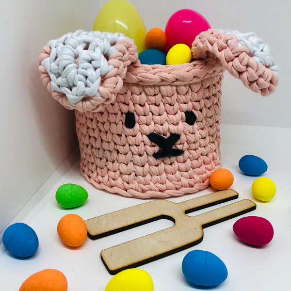 Bunny Basket Kit (including Pom Pom Pal)