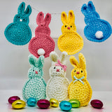 Fluffy Bunnies Crochet Kit