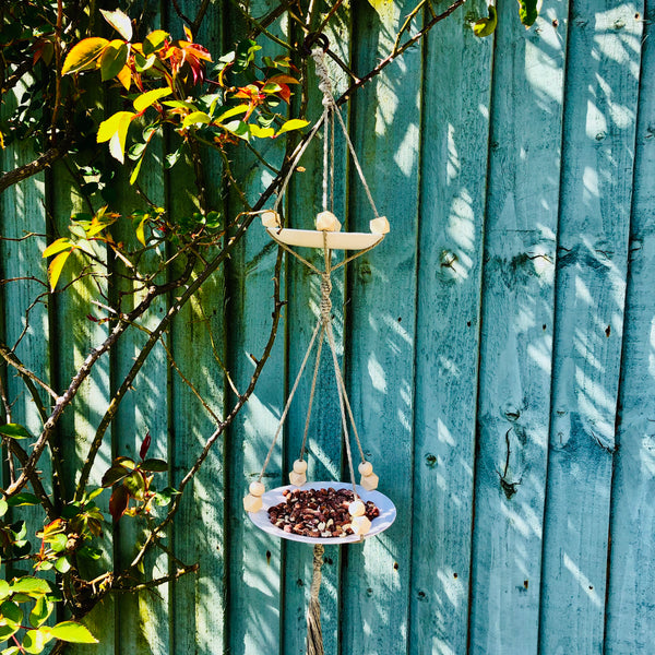 Macrame Bird Feeder ONLINE Workshop Wednesday 19th May, 7-9pm