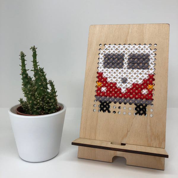 Wood and Wool Tech Stand Kit - Camper Van