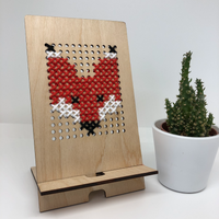 Wood and Wool Tech Stand Kit - Fox