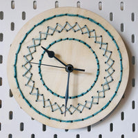 Wood and Wool Clock Kit