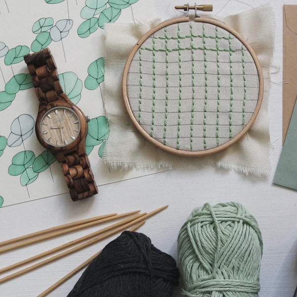 Stop the Clock: Crafts and conversation for well-being ONLINE Workshop Monday 10th May, 7-8:30pm