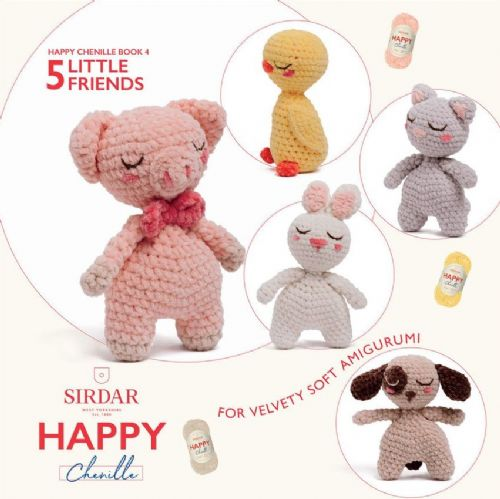 Happy Chenille Book 4 - Little Friends