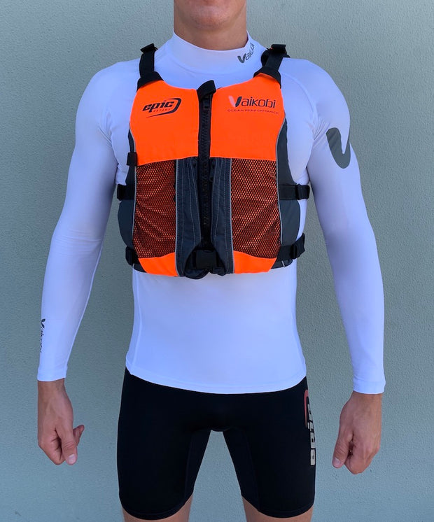 Fluro Orange Epic Vaikobi PFD