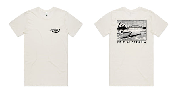Organic Cotton Epic Kayaks Design Tee - Epic Kayaks Australia