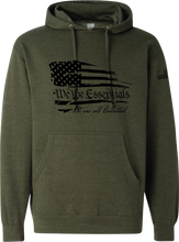 "Load image into Gallery viewer, NEW ""We The Essentials"" Standard Issue OD Green - Pullover Unisex Hoodie"