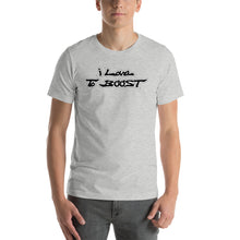 Load image into Gallery viewer, i Love To BOOST (stacked balck lettering) Short-Sleeve Unisex T-Shirt