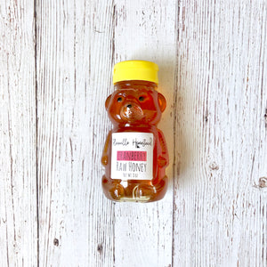 Raw Cranberry Honey | 8oz
