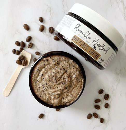 But First, Coffee | Emulsified Body Scrub | 8 oz