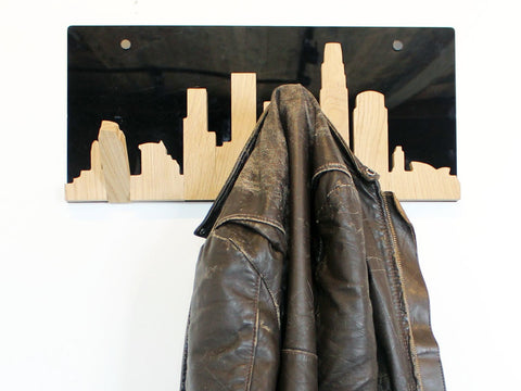 Skyline Coat Hanger — Los Angeles Edition