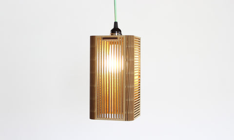 Square Slats Light Pendant