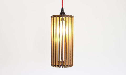 Straight Slats Light Pendant