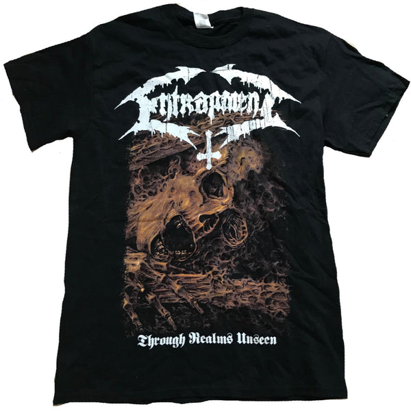 "Entrapment T-shirt ""Through Realms Unseen"""