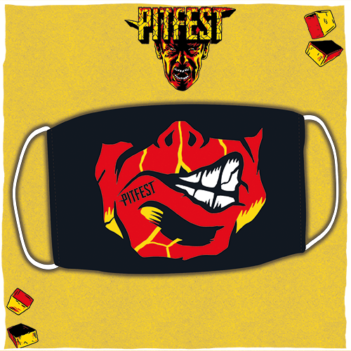 Pitfest Mouth Mask