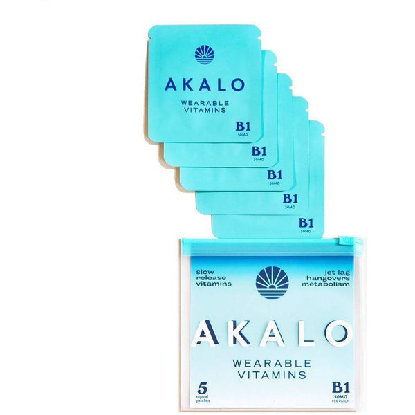AKALO Vitamin B1 Hangover Patches - 5pack - Brik + Clik