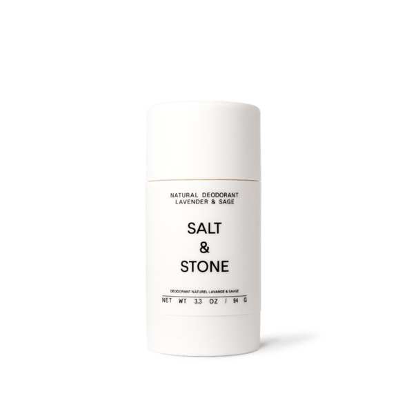 one bottle of salt & stone lavender & sage natural deodorant