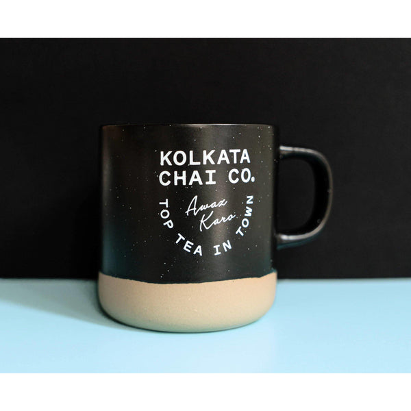 Kolkata Chai Co - Black/Clay Mug - Brik + Clik