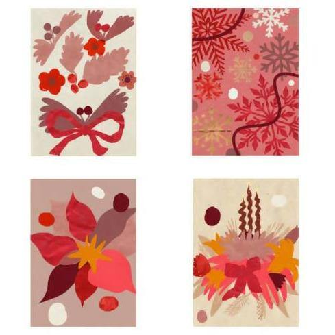 Holiday Illustration Card Set - Brik + Clik