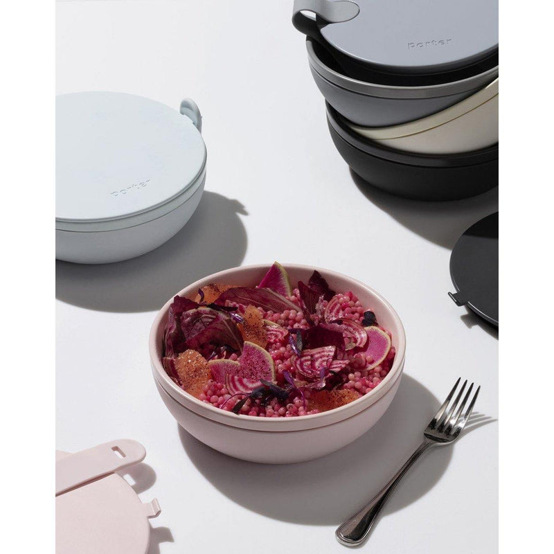 Porter Bowl Ceramic - Blush - Brik + Clik