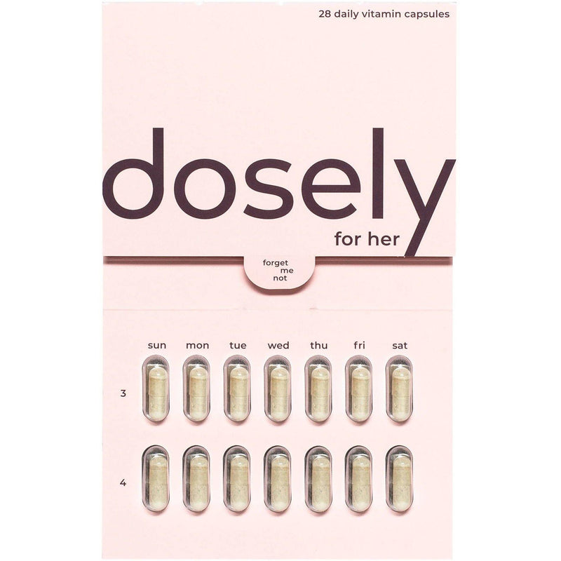 pack of dosely for her vitamins