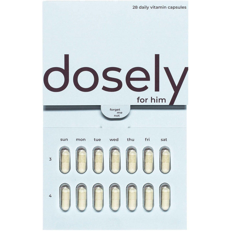 pack of dosely for him vitamins