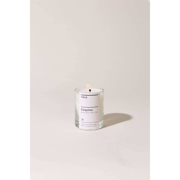 YIELD - 2.5 oz Coquina Votive Candle