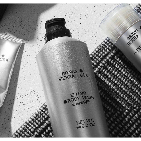 HAIR/BODY WASH & SHAVE - Brik + Clik