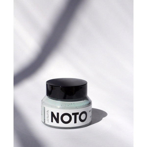 jar of noto moisture riser cream