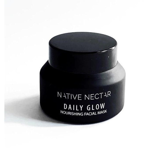 bottle of native nectar daily glow nourishing facial mask