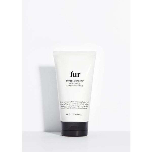 bottle of fur stubble cream
