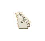 Georgia Pin White