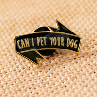 Can I Pet Your Dog Black