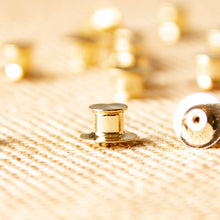 Load image into Gallery viewer, Locking Pin Backs I Pin Keepers I Lapel Deluxe Pin Backs