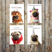 Load image into Gallery viewer, Philomena the Pug Greeting Cards