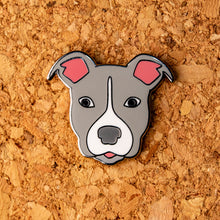 Load image into Gallery viewer, Pitbull Hard Enamel Pin