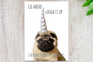 Philomena the Pug Greeting Cards